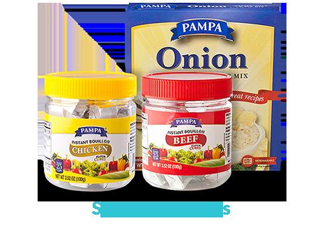 Soups & Bouillons
