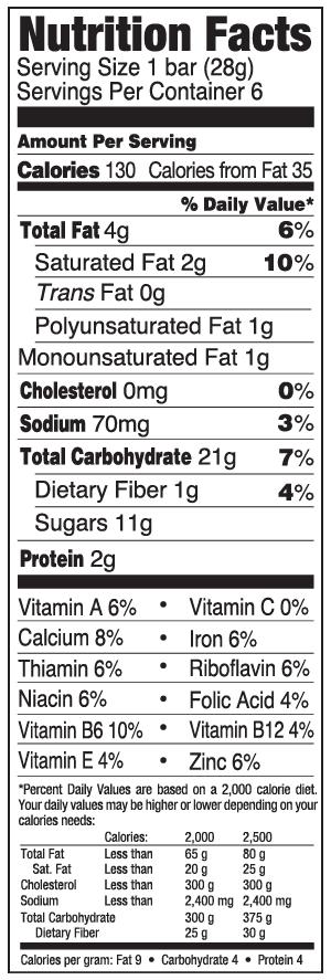 CEREAL BAR Fruit & Grain Strawberry NFC-01